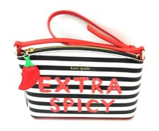 NWT Authentic KATE SPADE Extra Spicy Millie Crossbody Black Red WKRU5324