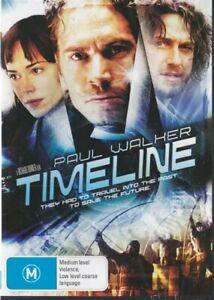 TIMELINE - PAUL WALKER - NEW & SEALED REGION 4 DVD - FREE LOCAL POST