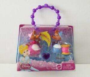 Mattel Disney Princess Cinderella's Mice Bobble-Head Figure & Bracelet Mary Suzy