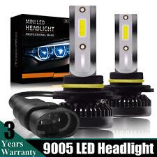 9005 HB3 Mini Size COB LED Headlight Conversion Bulb Hi/Lo Beam HID White 6000K