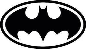 Batman Logo funny car  bumper, windows, caravan vinyl decal sticker