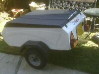 1960s/70s SNIPE grp camping trailer ,Retro style  (ideal vw bus trike bike car)