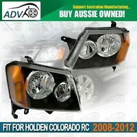 L&R Head Light Set for 06/2008 - 05/2012 fit HOLDEN COLORADO RC 2/4DR UTE