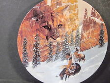 1992 Faces of Nature CANYON OF THE CAT Couger  Ltd Ed Plate