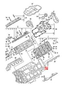 Cylinder head Gasket cylinders 1-3 AUDI VW Audi A4 Wagon S4 06E103148AG