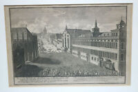 OriginalGrafik Delsenbach Nürnberger Rathaus 1712