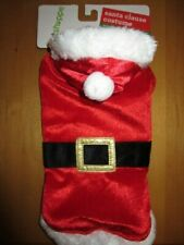 New listing New Pet Shoppe Santa Claus Dog Costume Sz Xs-S Best Fits 12-15 Pound Dogs Cute!