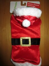 New listing New P 00004000 et Shoppe Santa Clause Dog Costume Sz Xs-S Best Fits 12-15 Pound Dogs Cute!