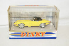 DINKY Collection dy-1b JAGUAR E TYPE MK 1 1/2 1967 GIALLO 1:43 MATCHBOX