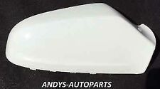 VAUXHALL ASTRA WING MIRROR COVER (NEW)54-09 LH OR RH SIDE IN GLACIER WHITE