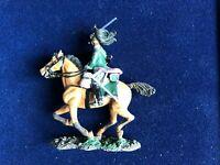 SOLDAT DE PLOMB CAVALIER EMPIRE HOMME DE TROUPE 16è DRAGONS FRANCE 1814