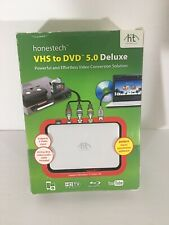 Honest Technology VHS to DVD 5.0 Deluxe (Retail) - Full Version for Windows