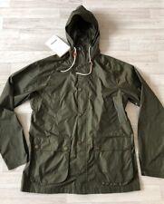 Barbour Jacket Men's Barbour Coat Bedale Windbreaker Medium Green Hoodie £199 Y