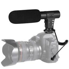 New External Interview Video Recording Camera Microphone for Nikon Canon DSLR DV