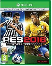 Pro Evolution Soccer PES 2016 XBOX ONE XB1 NEW SEALED