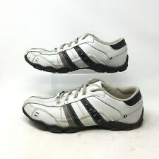 Skechers Diameter Vassell Casual Sneakers Low Top Lace Up Leather White Mens 13