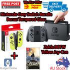 Grey Nintendo Switch Console + Tempered Glass + Zelda BOTW + 2 x Joy-Con Control