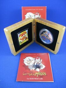 2012 Australian Silver Proof Coins - GINGER MEGGS - nice gift!