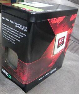AMD FX 8120 Black Edition 8 Core CPU 3.1GHz mit Original Kühler, Socket AM3+