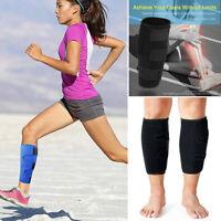 Ajustable Calf Support Compression Sleeve Shin Splint Brace Sports Wrap Guard US