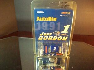 Jeff Gordon #1 Autolite 1989 Ford Thunderbird Raced In 1991 1:64 Action 13,464