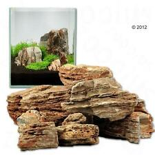 Rock Aquarium Natural Decoration Stones Fish Tank Wall Background Rocks Hill Set