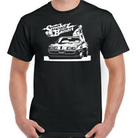 Smokey and the Bandit T-Shirt Mens Cannonball Run 80s Retro Movie T-Shirt Top