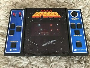 Entex Defender 1982 with Original Box and Instructions!