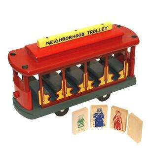 Holgate Toys Mister Rogers Neighborhood Trolley