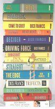Dick Francis Novels HCDJ - Lot of 14 Books