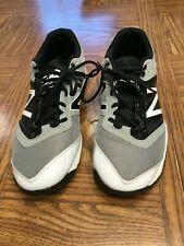 New Balance Black Gray and White Turf Shoes, Hardly Used, Size 13