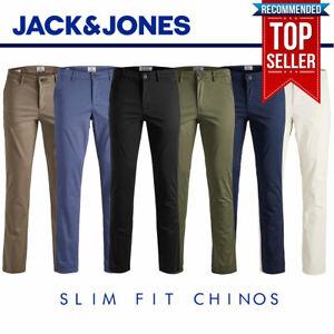 Jack & Jones Chinos Intelligence Mens Slim Fit Marco Bowie RRP £50