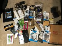 Lot Of Office Supplies and Misc, HDMI, Cables, Pens, Mouse, Amazon Returns Lot