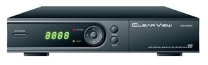 New ClearView DSR1000HD MPEG·4 DVB·S2 H.264/AVC full HD1080p Satellite Receiver
