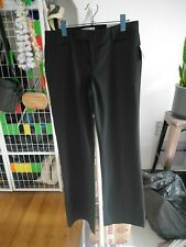 Gap Modern Boot Black Stight Tailored Trousers Size UK 12L