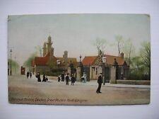 Glasgow, Botanic Gardens, Great Western Road. (1910)