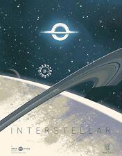 Interstellar IMAX Movie Art Kevin Dart Collectible Poster