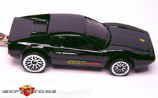 KEY CHAIN BLACK FERRARI 308 GTB/GTS TURBO CUSTOM LTD EDITION EUROPE HOT WHEELS