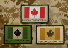 Canadian These Colours Don't Run Woven Patch JTF2 CADPAT Canada Strong Patch Set