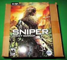 Lot of 12 (Sealed Case) Sniper: Ghost Warrior PC *Free Shipping!!