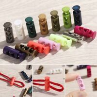 Accessories Stopper Cord Plastic Stoppers Lock Toggle DIY Metal Clamp