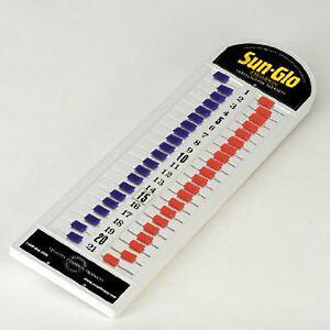 TABLE SHUFFLEBOARD SCOREBOARD - KEEPS SCORE UP TO 21 POINTS