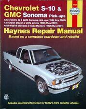HAYNES REPAIR SHOP MANUAL -CHEVROLET S-10/GMC SONOMA pick-ups - BOOK