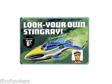 NOSTALGIA TV21  AIRFIX STINGRAY KIT SEA JET lolly ADVERT - JUMBO FRIDGE MAGNET