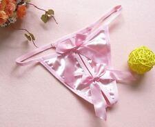 Perizomi, tanga, slip e culottes da donna rosa taglia taglia unica
