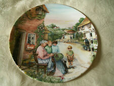 ROYAL DOULTON / BRADEX COLLECTORS PLATE 'THE LACEMAKER' 1991