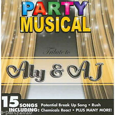 ALY & AJ PARTY MUSICAL CD ~ Birthday Supplies Favors Prizes Dance Music Disney