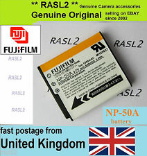 Genuine Original Fujifilm NP-50a Battery FinePix F665 F770 F775 EXR F900EXR F800