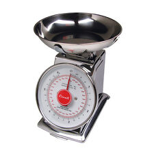 11 LB X 1 OZ Escali DS115 Mercado Mechanical Dial Food Scale With Bowl NEW !!