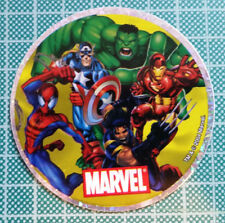 Sandylion Marvel Comics Round Holographic Sticker MARVEL SUPERHEROES 2004